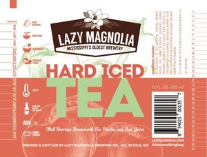 Lazy Magnolia Brewing Company Hard Iced Tea