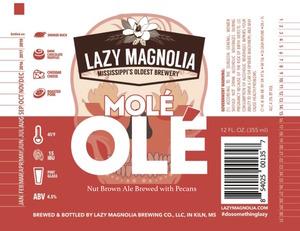 Lazy Magnolia Brewing Company Mole Ole