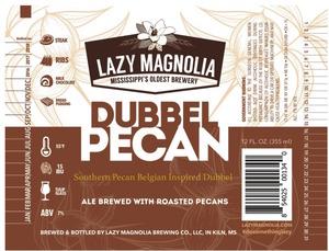 Lazy Magnolia Brewing Company Dubbel Pecan