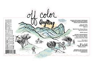 Off Color Brewing Qingming