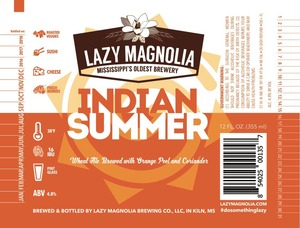 Lazy Magnolia Brewing Company Indian Summer