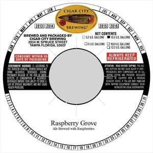 Cigar City Brewing Raspberry Grove