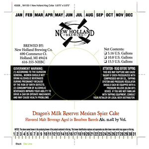New Holland Brewing Company Dragon's Milk Reserve Mexican Spice Cake