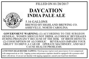 Highland Brewing Co. Daycation