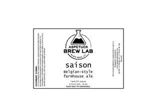 Saison Belgian-style Farmhouse Ale