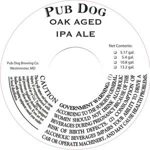 Pub Dog Oak Aged IPA