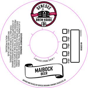 Genesee Brew House Maibock Beer