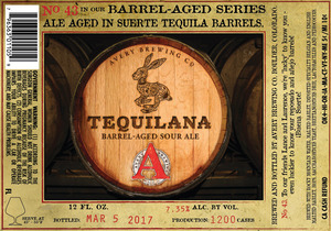 Avery Brewing Co. Tequilana