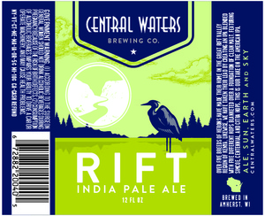 Central Waters Brewing Company Rift India Pale Ale