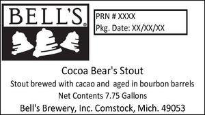 Bell's Cocoa Bear's Stout
