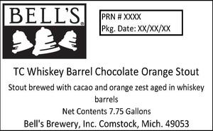 Bell's Tc Whiskey Barrel Chocolate Orange Stout