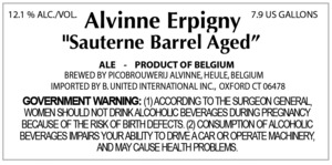Alvinne Erpigny Sauterne Barrel Aged