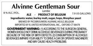 Alvinne Gentleman Sour