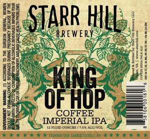 Starr Hill King Of Hop Coffee