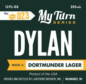 Lakefront Brewery Dylan Made A Dortmunder Lager