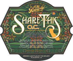 The Bruery Share This: O.c.