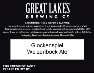 Great Lakes Brewing Co. Glockenspiel Weizenbock