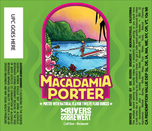 Six Rivers Brewery Macadamia Porter