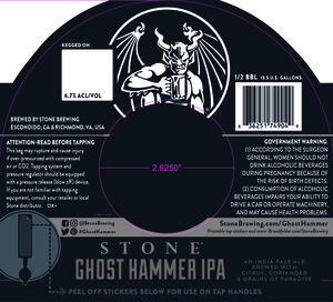 Stone Ghost Hammer Ipa February 2017