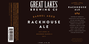 Great Lakes Brewing Co. Barrel Aged Rackhouse