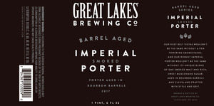 Great Lakes Brewing Co. Barrel Aged Imperial Smoked Porter