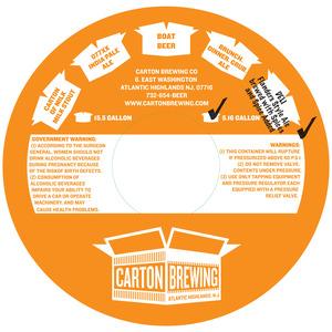 Carton Brewing Co. Deli