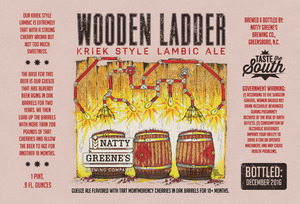 Natty Greene's Brewing Co. Wooden Ladder Kriek