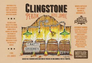 Natty Greene's Brewing Co. Clingstone Perzik