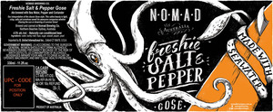 Nomad Brewing Co. Freshie Salt & Pepper