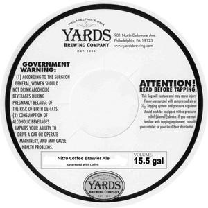 Yards Brewing Company Nitro Coffee Brawler Ale