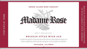 Goose Island Beer Company Madame Rose