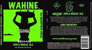 Wahine Apple Wheat Ale