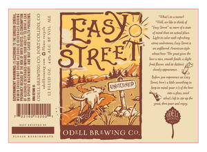 Odell Brewing Company Easy Street