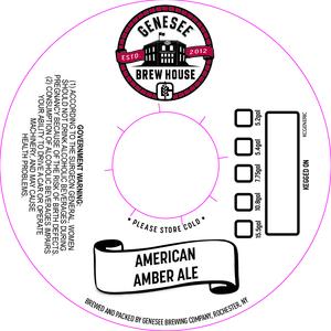 Genesee Brew House American Amber Ale