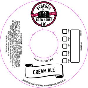 Genesee Brew House Cream Ale