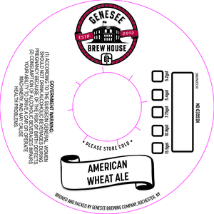 Genesee Brew House American Wheat Ale
