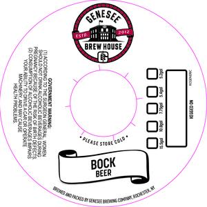 Genesee Brew House Bock Beer