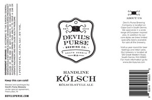 Image result for devils purse HANDLINE kolsch