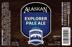 Alaskan Explorer Pale Ale