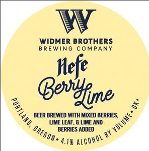 Widmer Brothers Brewing Company Berry Lime Hefe