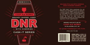 Brandy Barrel Aged Dnr With Cherries