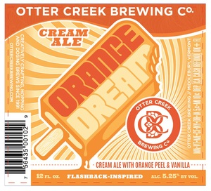 Otter Creek Brewing Orange Dream Cream Ale