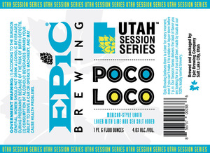 Epic Brewing Company Poco Loco