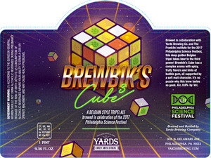Yards Brewing Company Brewbik's Cube