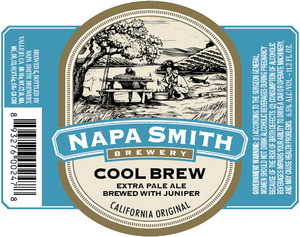 Napa Smith Brewery Cool Brew