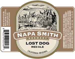 Napa Smith Brewery Lost Dog