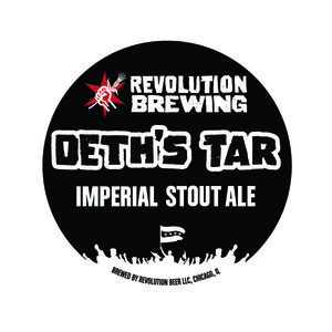 Revolution Brewing Deth's Tar