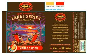 Kona Brewing Co. Magic Sands Mango Saison