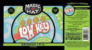 Magic Hat Low Key Session IPA