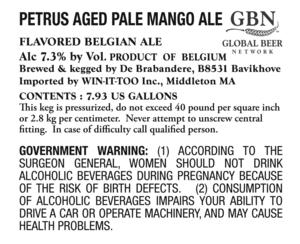 Petrus Aged Pale Mango Ale